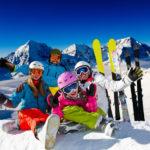 family-skiing