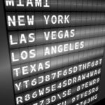 USA departures