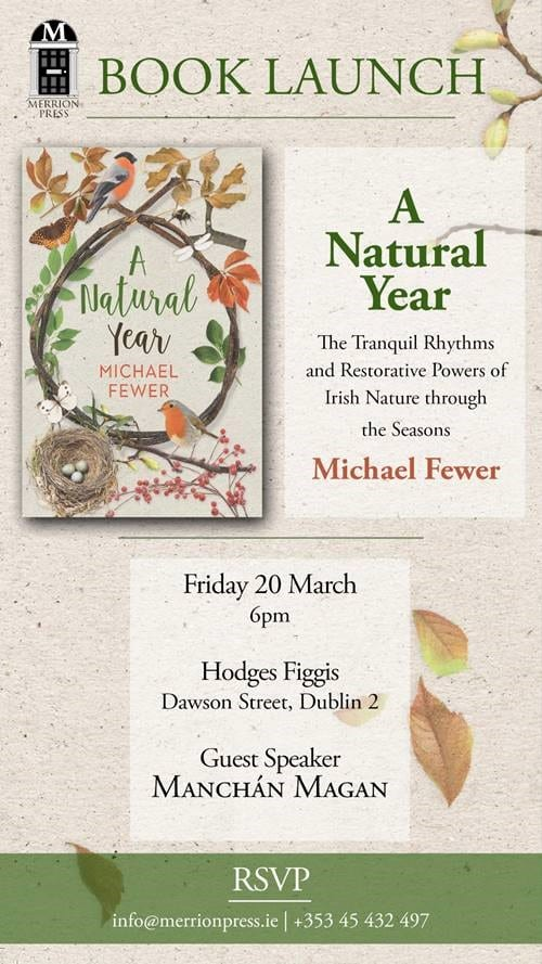 Book Launch Invitation: A Natural Year