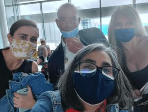 irish journalists on press trip to portugal